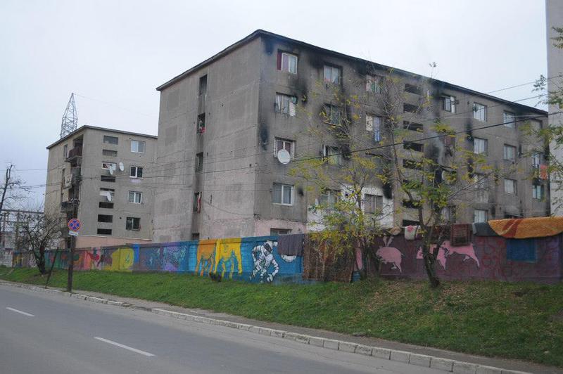 Zidul de la Baia Mare (via Hotnews)